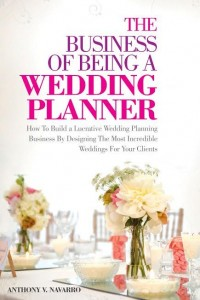The business of being a wedding planner book cover