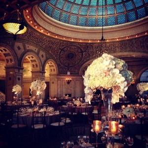 Wedding at the Chicago Cultural Center by Liven It Up Events 1
